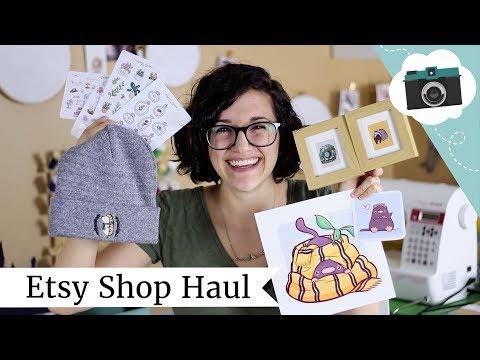 Etsy Shops I Love! Etsy Haul Video   @laurenfairwx