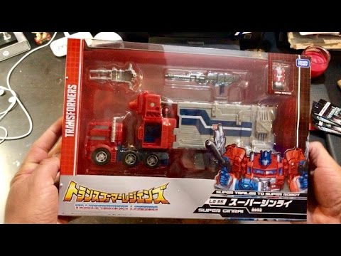 Transformers Legends Super Ginrai LG 35 UNBOXING