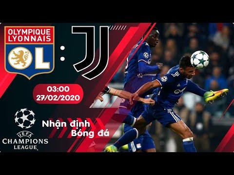 🔴Nhận định, soi kèo Lyon vs Juventus 03h00 ngày 27/02/2020 - Vòng 1/8 Champions League 2019/2020