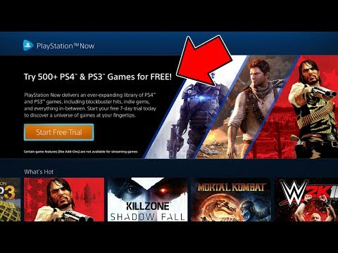 HOW TO GET 500+ PS4 AND PS3 GAMES FOR FREE!!!