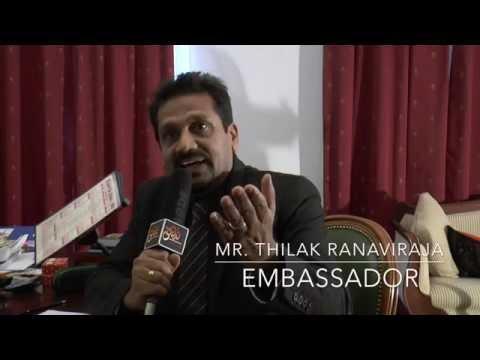 France/Sri Lanka Ambassador with Prachaara