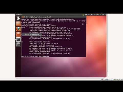 Cara Setting IP di Linux Ubuntu