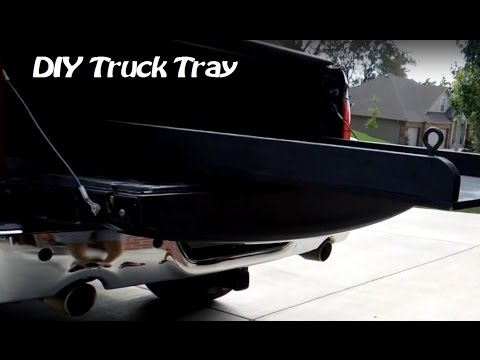 Sliding Truck Tray (DIY)