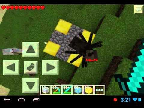 como hacer el portal de nether minecraft android