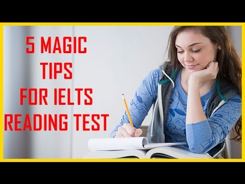 MAGIC TIPS FOR IELTS READING    7+ BAND SCORE