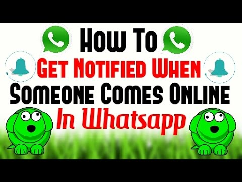 [Hindi - हिन्दी] How To Get Notified When Someone Comes Online Without Opening Whatsapp
