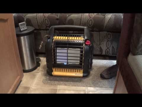 RV Heating: five different ways including Mr. Heater Big Buddy heater and