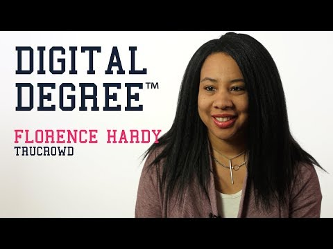 Florence Hardy from TruCrowd, an Equity Crowdfunding Platform