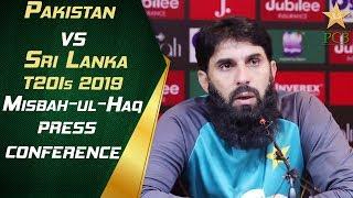 Misbah-ul-Haq press conference at the GSL | Pakistan vs Sri Lanka 2019 2nd T20I