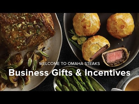 Corporate Gifting with Omaha Steaks