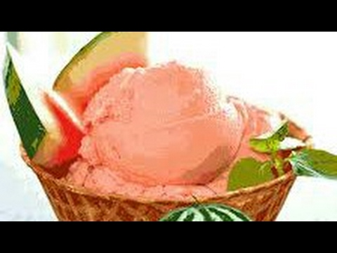 How to make watermelon ice cream | natural style