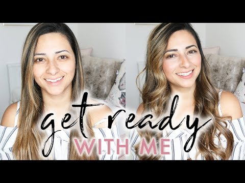 MY GLOWY EVERYDAY MAKEUP ROUTINE & HOW I CURL MY HAIR | GET READY WITH ME | Ysis Lorenna