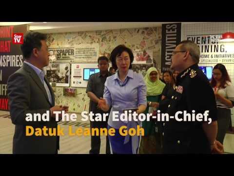 Malaysian Anti-Corruption Commission (MACC) visit to Menara Star