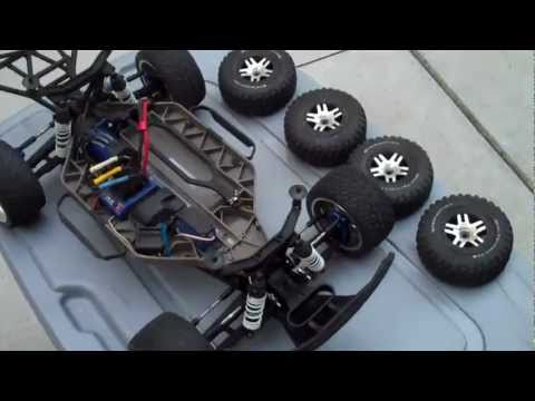 How to change tires on a rc truck