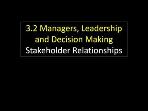 3.2 13 Stakeholder Relationships