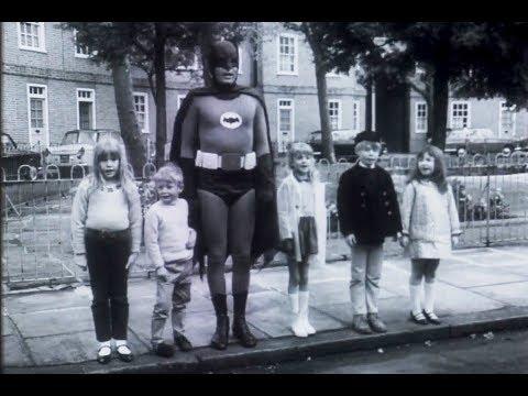 Rare long-lost Batman (Adam West) UK Road Safety Advert - 1967