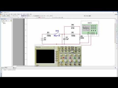 Transient DC Circuit Analysis: Analytical and Multisim