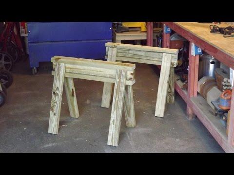 Making Great Sawhorses