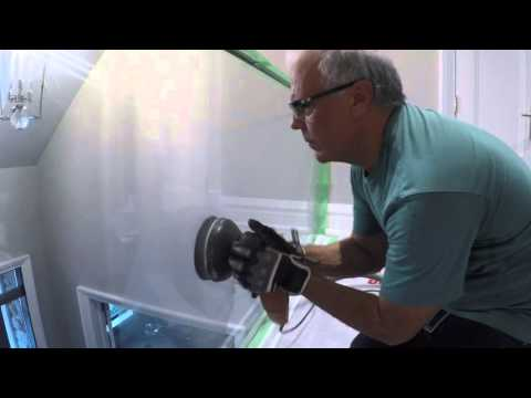 Scratched Glass Repair by Skywave Polishing