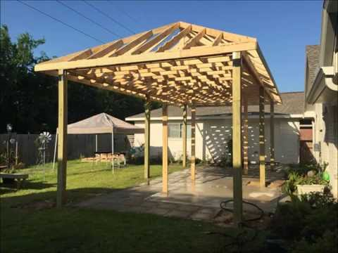 Covered Patio Build