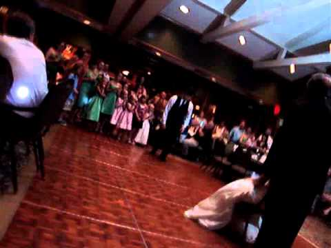 Linden & Jesse's Reception: Garter Dance