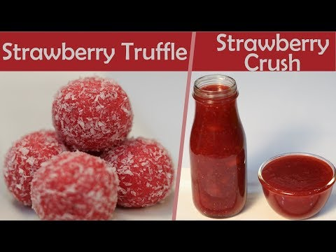 How To Store Frozen Preserve Strawberries At Home Strawberry Truffle Recipe