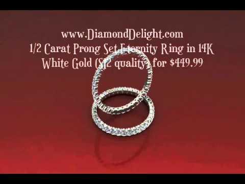 Buy Diamond Eternity Rings & Bands at Diamond Delight