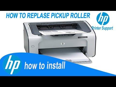 Hp p1007 Paper Pickup Roller Replacing