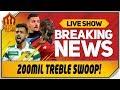 Fernandes Pepe Milinkovic Savic 200 Million Transfer Swoop Man Utd Transfer News
