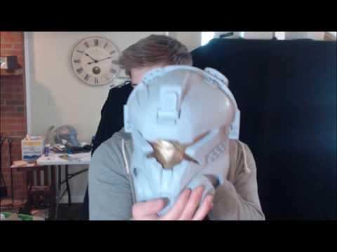 EXCLUSIVE Battle Damaged TITANFALL IMC Pilot Helmet | Build Log 1