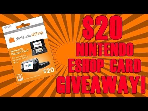 $20 Nintendo eShop Card Giveaway! (CLOSED)