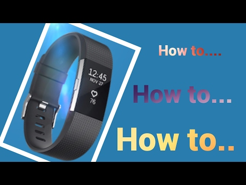 How to change bands on your FitBit Charge 2