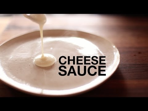 Ultimate Velvety-Smooth Cheddar Cheese Sauce