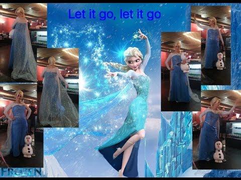 My cosplay tutorial of Elsa from frozen