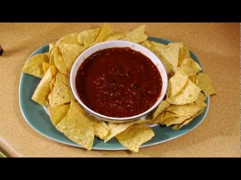 Chipotle Salsa - Hot Spicy Mexican Salsa - Fast Cheap and Easy recipe