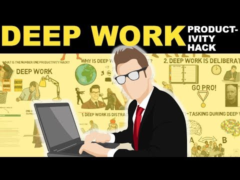 Deep Work Explained | How To Be Super Productive | #1 Productivity Hack