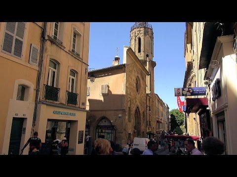 Aix-en-Provence Sightseeing Tour, Provence-Alpes-Côte d'Azur, France [HD] (videoturysta)