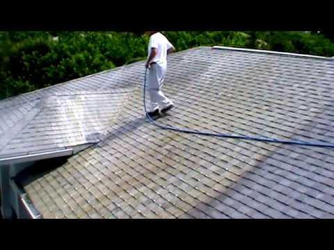 Bergman Soft Wash No Pressure Shingle Roof Cleaning  Port Charlotte