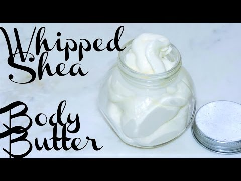 Day 9: Whipped Shea Body Butter -- Twelve Days of a Naturalista Christmas