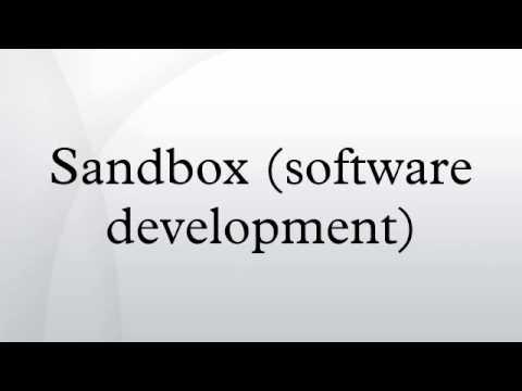 Sandbox (software development)