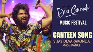 Canteen Song - Vijay Devarakonda MASS Dance Performance @ Dear Comrade Music Festival