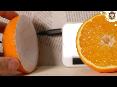 How to Make a Speaker with an Orange