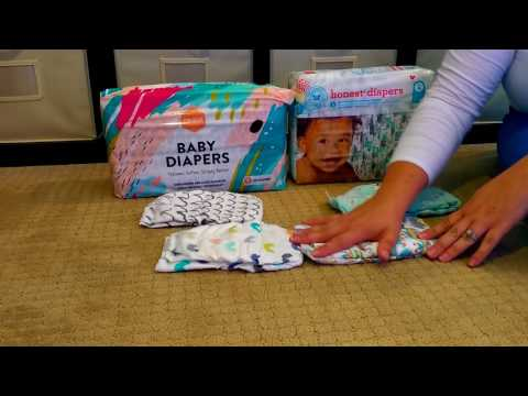 Diaper/Baby Wipe Review: Parasol Co Versus Honest  Company Diapers and Wipes