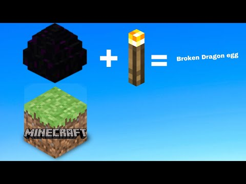 How to break a Dragon Egg in Minecraft Pocket edition
