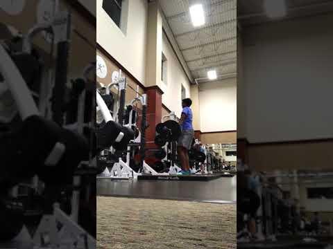 66 kg power clean + hang clean