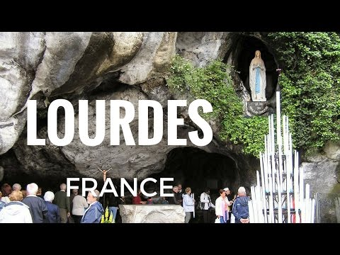 Sanctuary and Grotto of Our Lady Of Lourdes - Lourdes, France