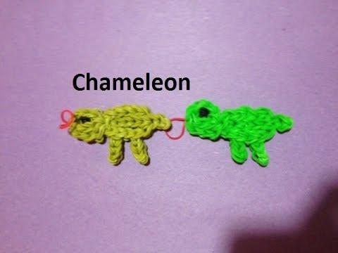 How to Make a Chameleon on the Rainbow Loom - Original Design