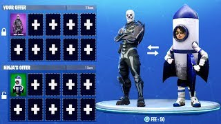 You can now TRADE SKINS in Fortnite: Battle Royale!