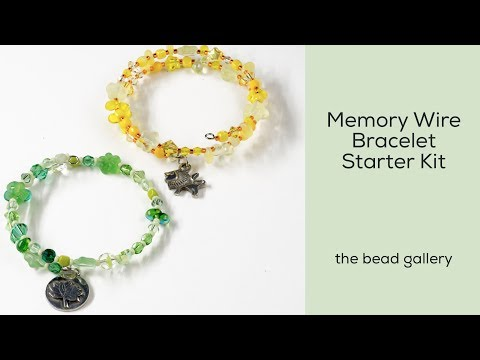 Memory Wire Bracelet Starter Kit at The Bead Gallery