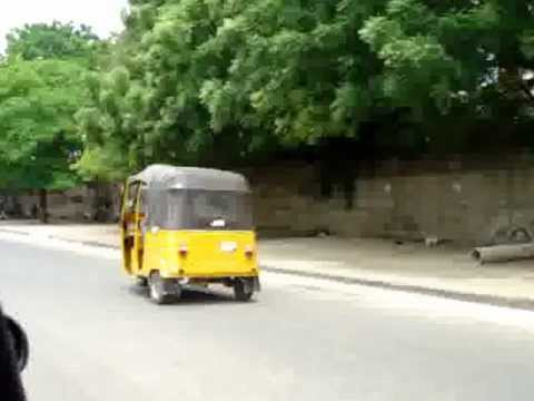 Typical Maruwa Transport, AKA Keke, in Nigeria.